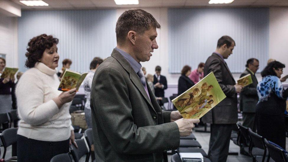 Testigos de Jehová en Rusia.