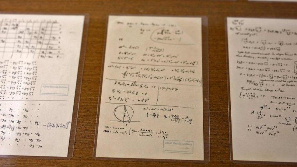 ajnštajnovi rukopisi