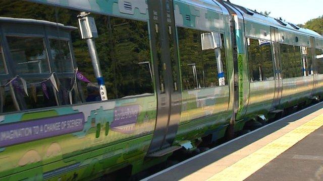 Borders train