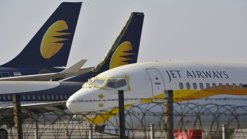 Jet Airways cancels international flights as crisis deepens