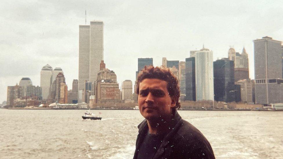 Hans Gernot Schenk en NYC