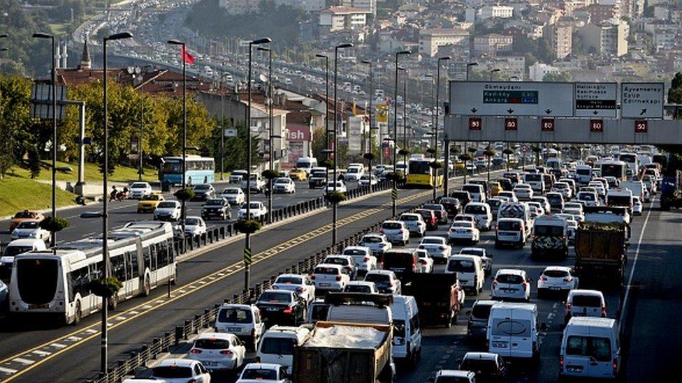 İstanbul, 2018'de dünyada en yoğun trafiğin yaşandığı 2. kent oldu.