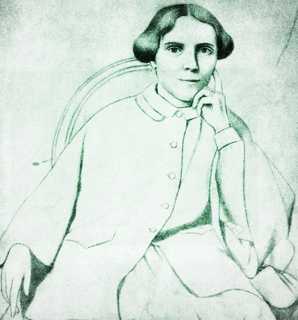 Retrato de Elizabeth Blackwell