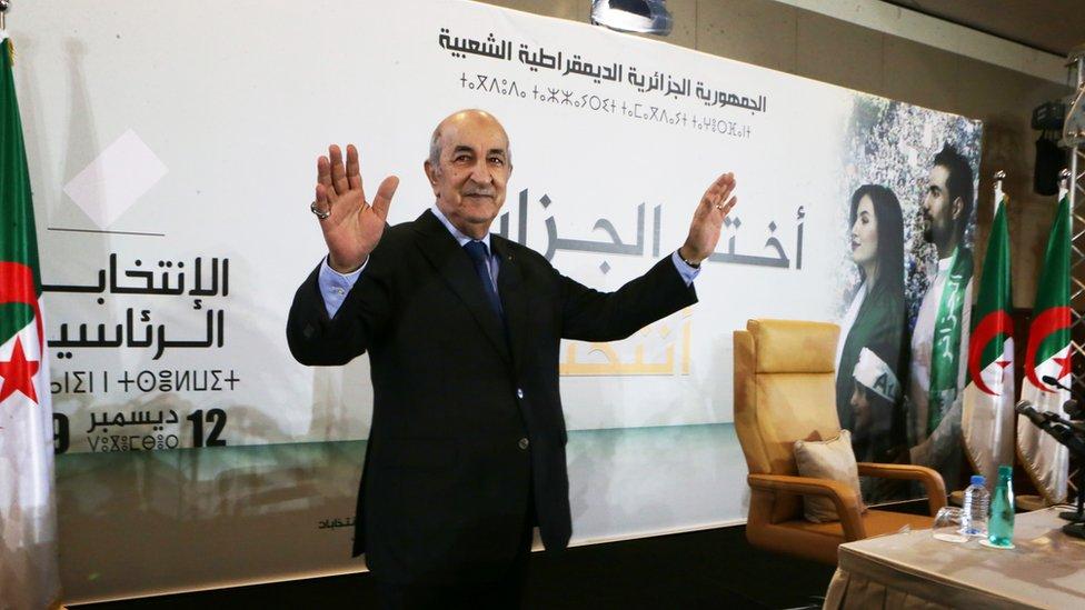 تبون في أول مؤتمر صحفي له رئيسا للجزائر