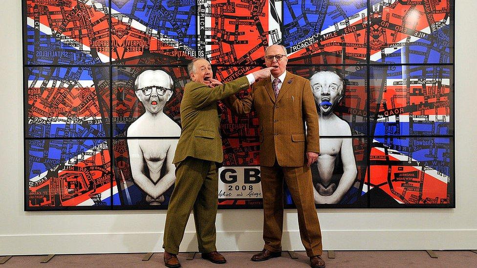 Gilbert y George.