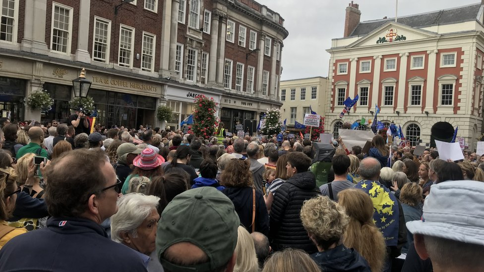 Protests in York