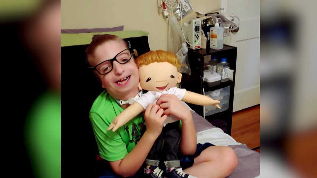 Children's joy at seeing dolls that look like them