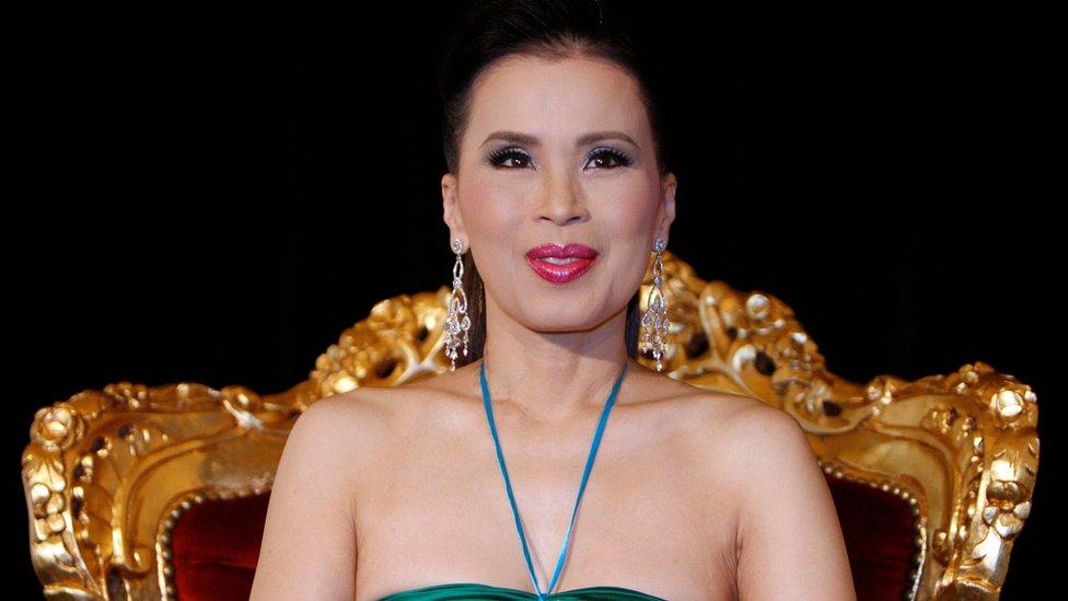 戛納電影節上的公主烏汶叻
