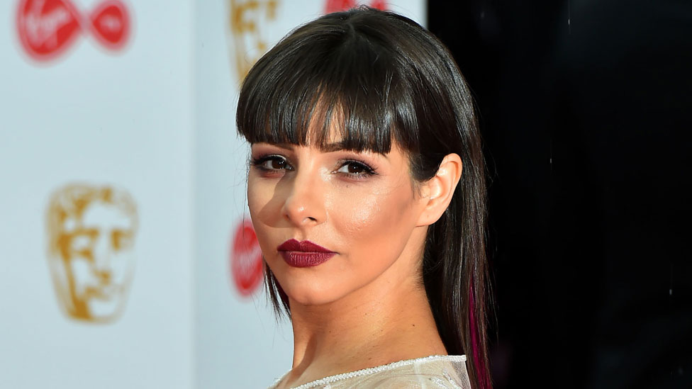 Roxanne Pallett 'lucky to be here' after stock car crash