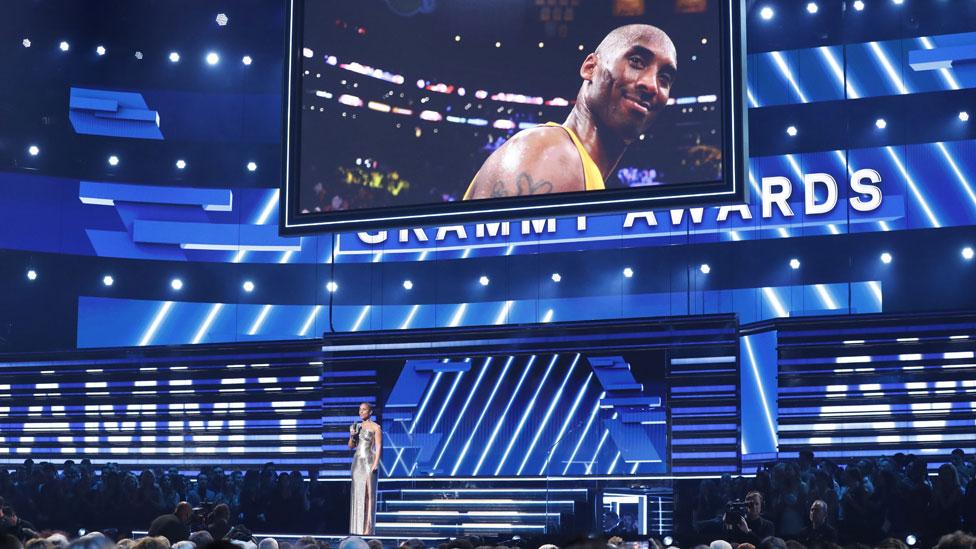 نعت أليشيا كيز وفاة لاعب كرة السلة كوبي براينت