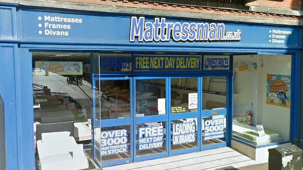 Job losses as Mattressman bed retailer closes stores