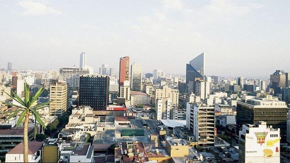Região central da Cidade do México