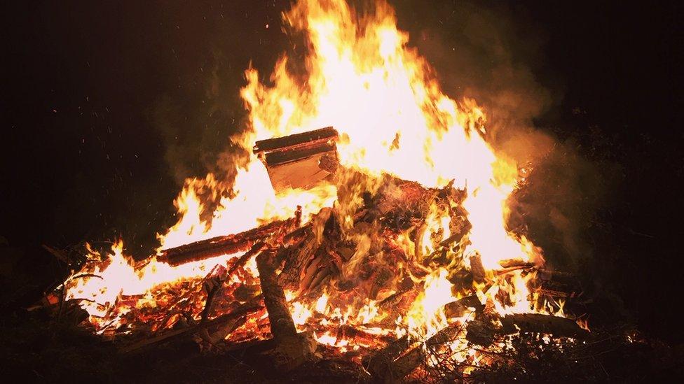 Dispersal zone plan for Bonfire Night in Edinburgh