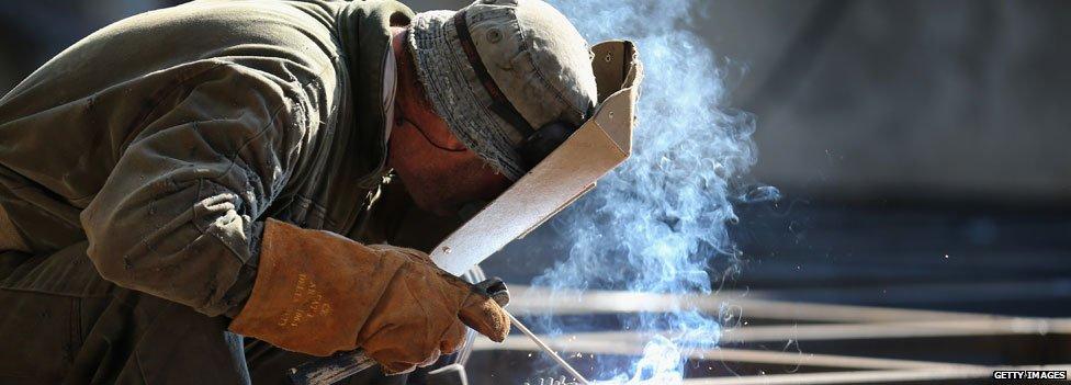 Greek shipyard worker
