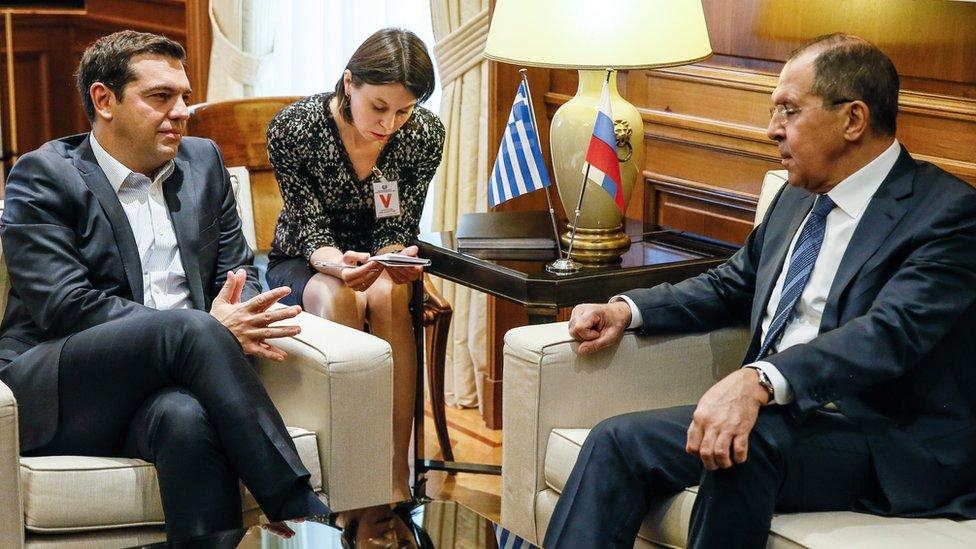 """Grčka naredila """"proterivanje ruskih diplomata"""""""