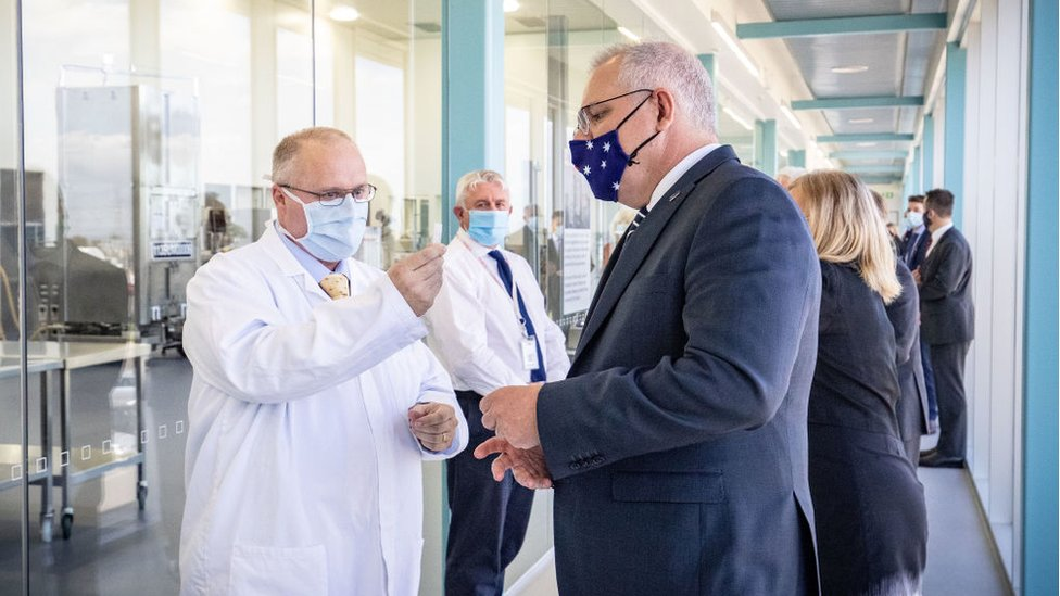 Prime Minister Scott Morrison announced accelerated plans for mass vaccination