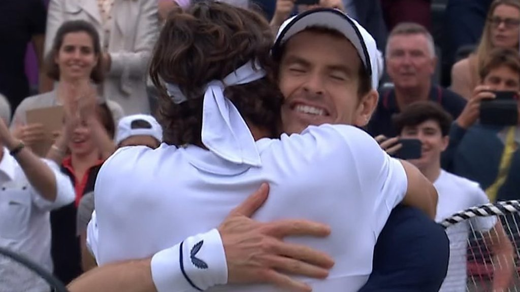 Highlights: Andy Murray Murray & Feliciano Lopez win 'fairytale' Queen's doubles title