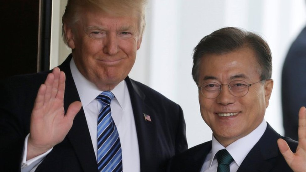 Trump and South Korea's Moon to hold talks on Kim summit