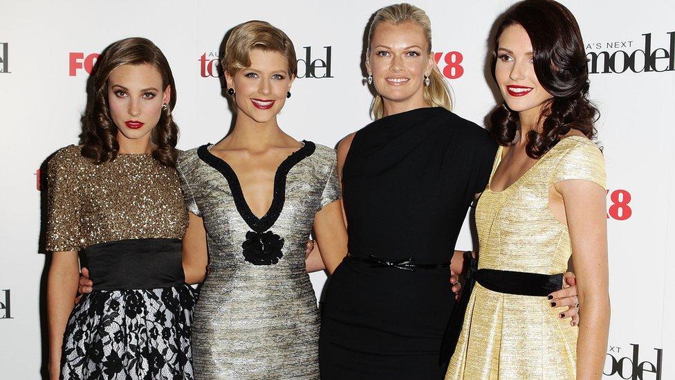 Kelsey Martinovich, Sophie Van Den Akker, Sarah Murdoch and Amanda Ware