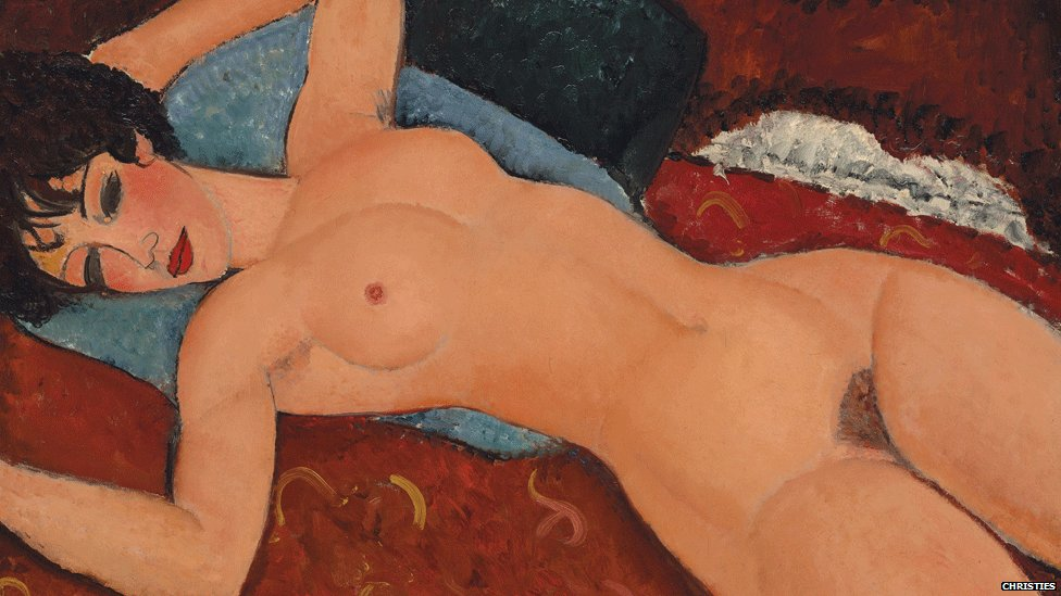 Nu couche (Reclining Nude_