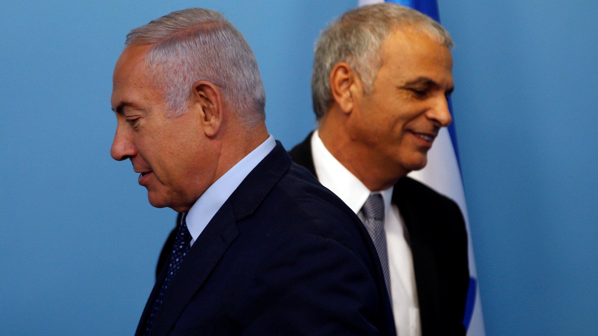 Netanyahu warns of danger of early Israel election