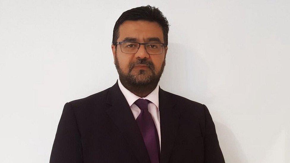Rizwan Malik, radiology consultant at the Royal Bolton Hospital