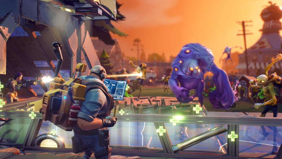 Screenshot from Epic Games Fortnite