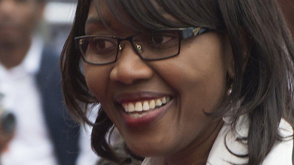 Namibian Prime Minister Saara Kuugongelwa-Amadhila