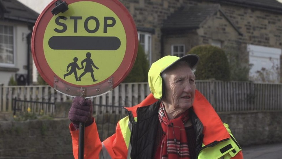 Lollipop lady, 86, refuses to retire