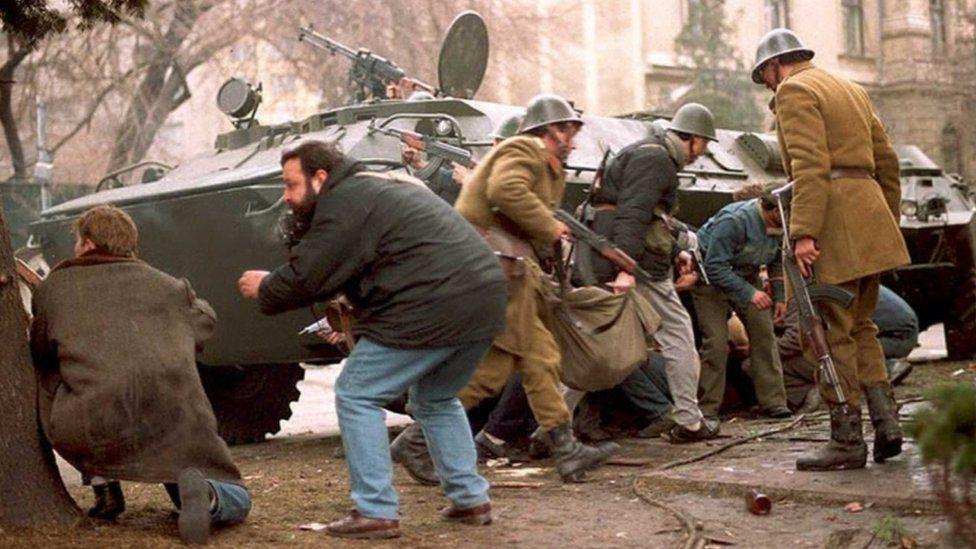 Revolución en Rumania