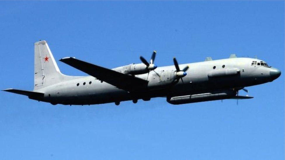 У Сирії зник російський літак Іл-20 з військовими на борту: версії