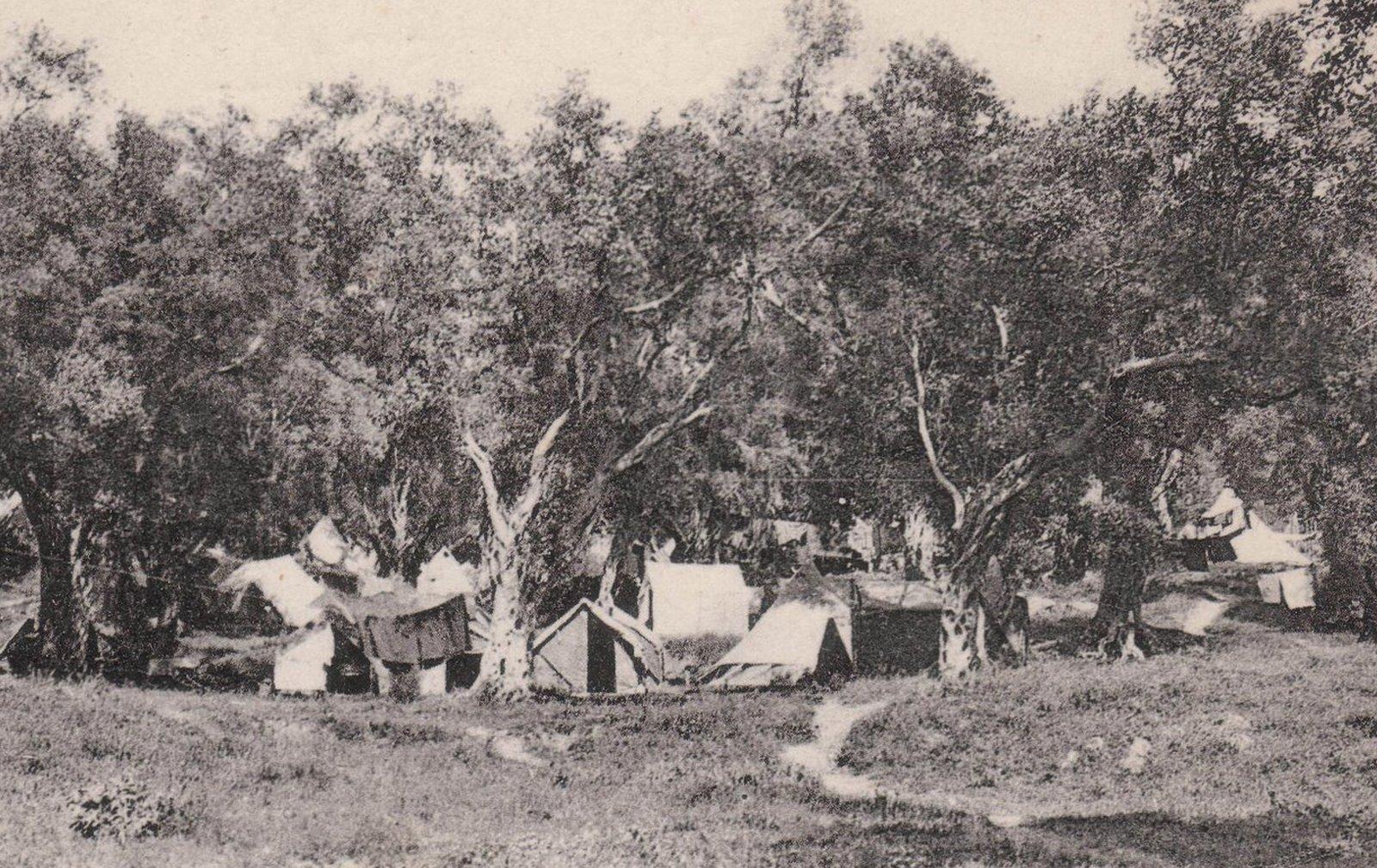 Srpski logor na Krfu 1916. godine