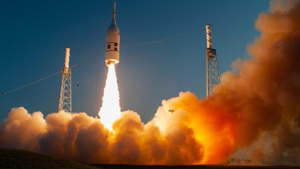 Prueba de lanzamiento espacial