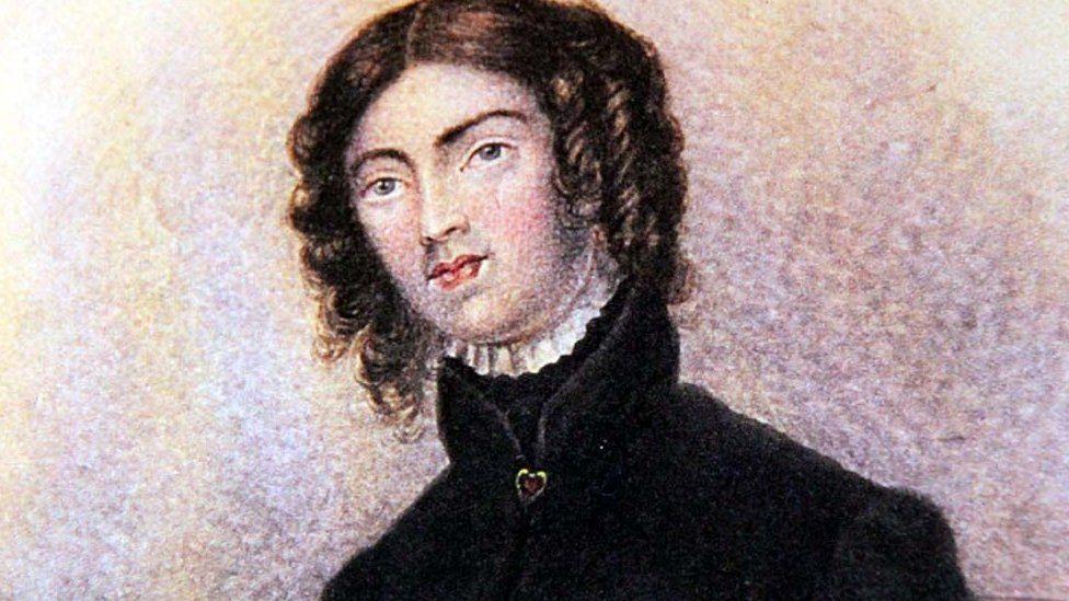 Pintura de Anne Lister.