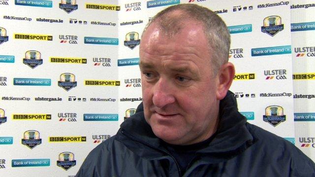 Antrim football joint manager Frank Fitzsimons