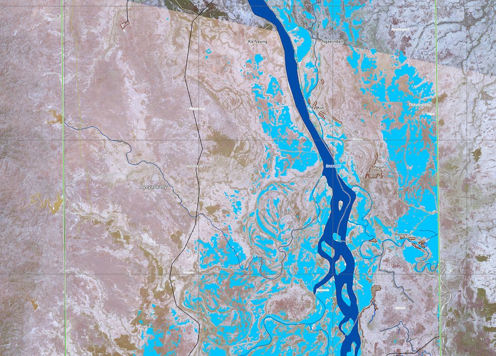 Flooding in Myanmar