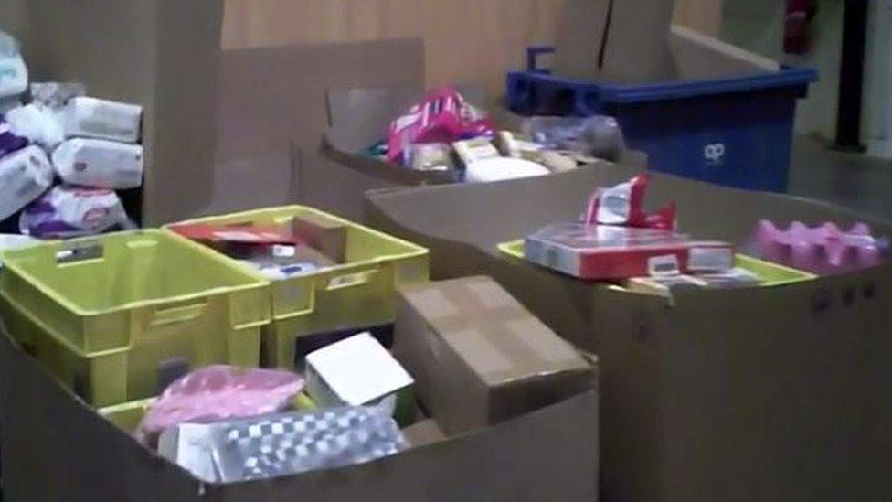 Imagen del video grabado por el programa Capital.