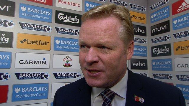 Southampton 2-0 Bournemouth: Koeman praises 'best football of season'