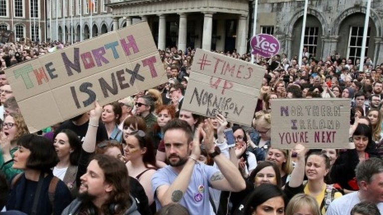 Arlene Foster: Irish abortion vote has no impact on NI law