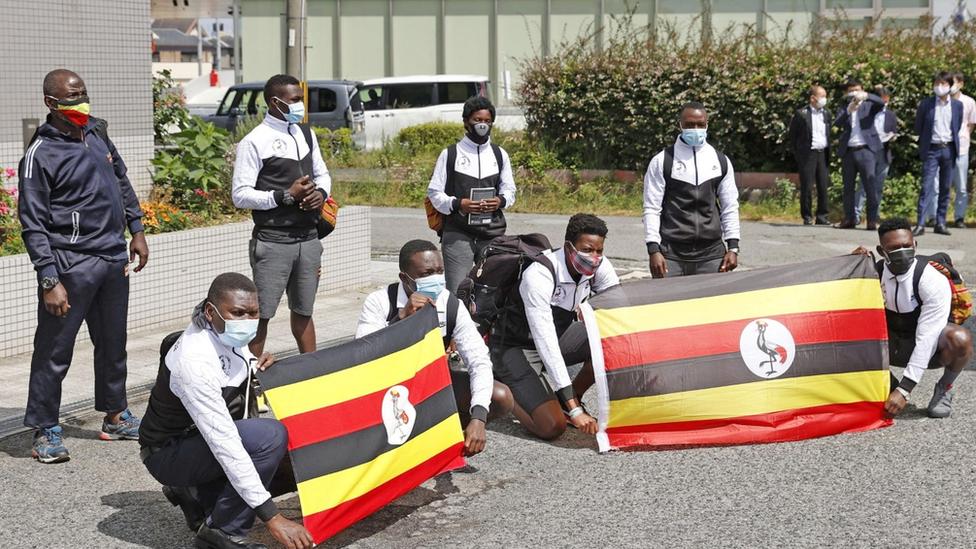 烏干達的奧運代表團早前抵達東京,但其中一人之後新冠肺炎驗測為陽性,再引防疫安全憂慮。