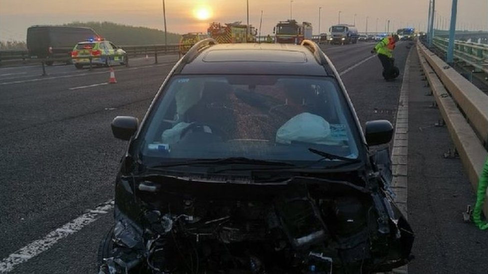 M4 Prince of Wales Bridge crash driver released