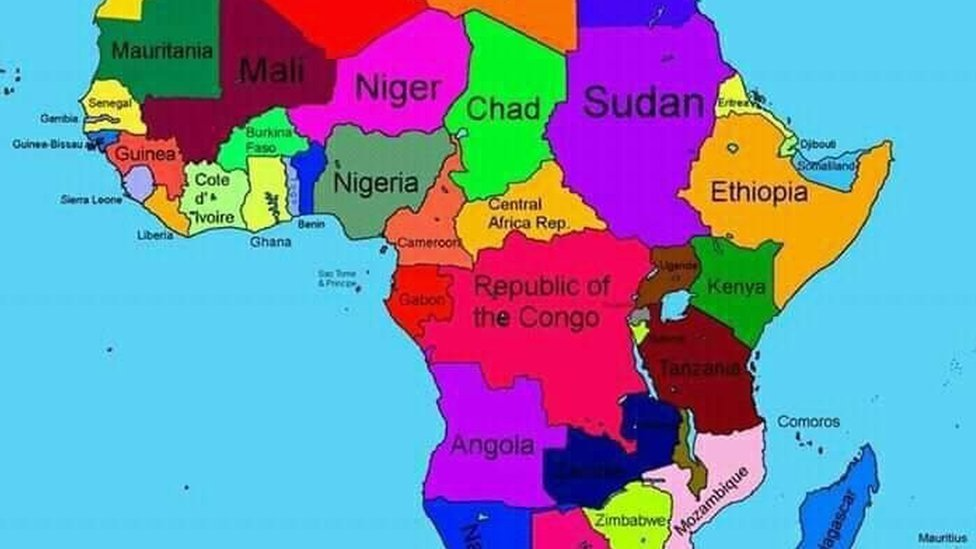 Somalia On Africa Map Ethiopia apologises for map that erases Somalia   BBC News