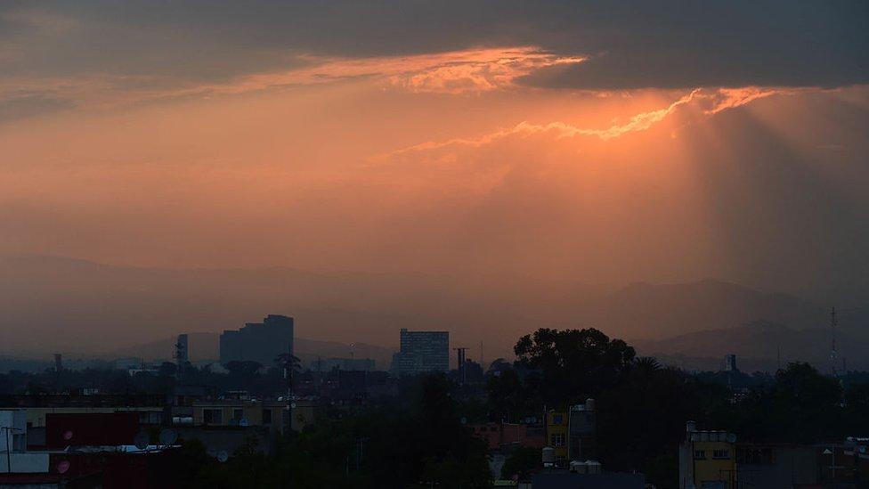 México con smog