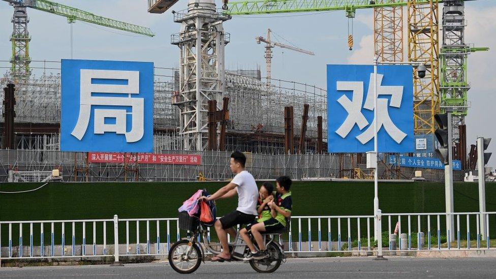 Evergrande está en la actualidad construyendo un estadio para su equipo de fútbol, el Guangzhou FC