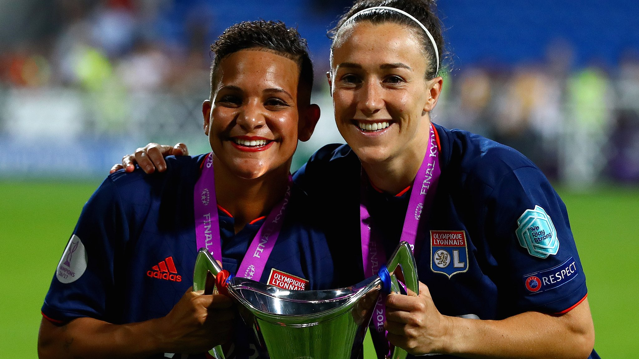 Lyon score four in extra-time to beat Wolfsburg in Women's Champions League final