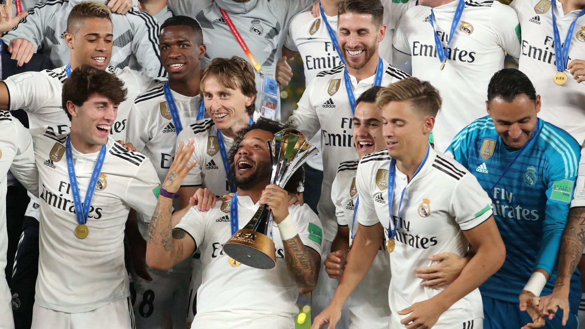 Image result for Real Madrid win Club World Cup for a third year in a row with dominant Al Ain victory Real Madrid win Club World Cup for a third year in a row with dominant Al Ain victory