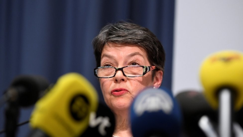 Marianne Ny said the case could resume if Mr Assange visited Sweden before August 2020
