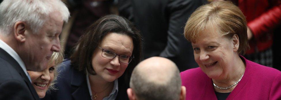 Nemačka vladajuća koalicija