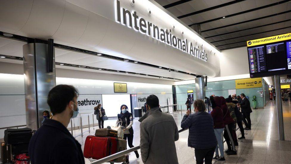英格蘭有五個機場需要入境人士進行酒店檢疫,希思羅機場是其中之一。