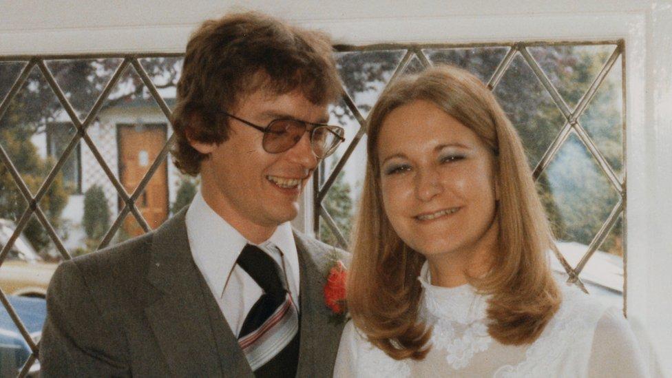 Richard Challen y Sally Challen